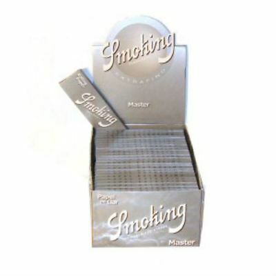 Smoking Rolling Paper Silver Masters 1 1/4 Box of 25 Booklets