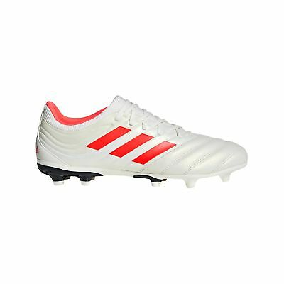 a96c2ec83e85 adidas Copa 19.3 Firm Ground Football Boots Trainers Shoes White Mens