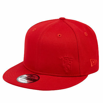 Manchester United New Era 9FIFTY Tonal Devil Snapback Cap Red Adult Unisex