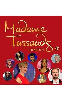 2 madame tussauds  london tickets 23/01/2019 at 3.30pm