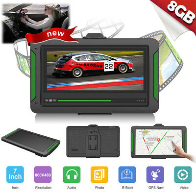 7 inch 8GB Car GPS Navigator Lorry Truck Multi-media Navigation System SAT Maps