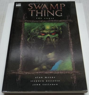 SWAMP THING THE CURSE RARE 1ST PRINT TPB (DC/Vertigo 2000) Alan Moore (VF-)