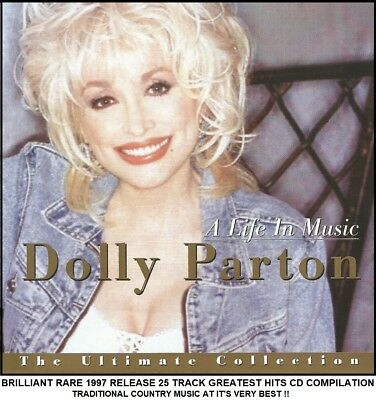 Dolly Parton The Very Best 25 Greatest Hits Collection 70's 80's 90's Country CD