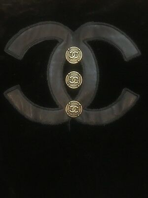 CHANEL Buttons CC LOGO 2 Pieces 20 mm