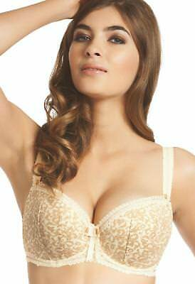 04a5077e0f 32C Ivory   Beige Fauve Emmanuelle Lightly Padded Underwired Bra Bnwt
