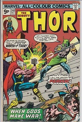 """Thor 240 -  """"When Gods Make War!"""". Bronze Age pence issue"""