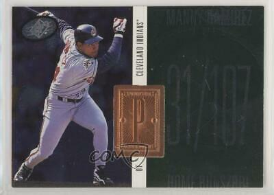 1998 SPx Finite #224 Manny Ramirez Cleveland Indians Baseball Card