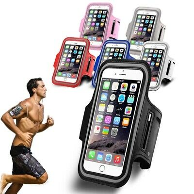 FOR APPLE iPHONE XSMAX XR 8 Sports Armband Case Holder Gym Running Jogging Strap