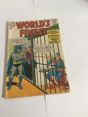 Worlds Finest 145 Gd/Vg Good/Very Good 3.0 DC Comics Silver Age