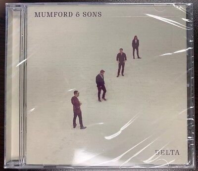 Mumford & Sons CD 2018 Delta  Physical Factory Sealed Album NEW