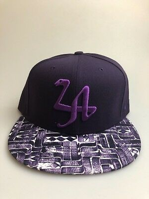 d6b512f1 Mens Nike True Kobe LA Snapback Hat Purple 729494-524 Adjustable Snake Mamba
