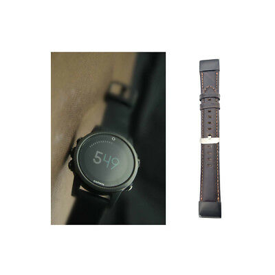 Practical Quick Release Luxury Leather Strap Band Replacement For Garmin Fenix 5