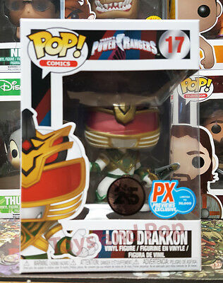 Funko Pop Comics Saban's Power Rangers Lord Drakkon #17 PX Exclusive