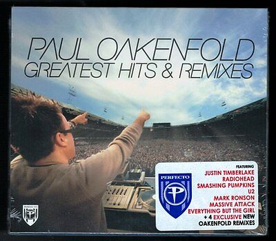 PAUL OAKENFOLD Greatest Hits & Remixes (CD, 2007, Ultra Records) SEALED