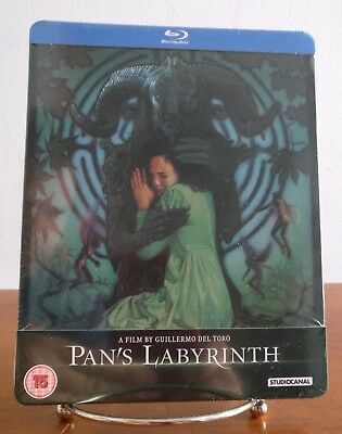 Pan's Labyrinth SteelBook UK Blu-ray - BRAND NEW & SEALED - OOP
