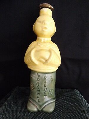 "Vintage Ceramic Chinese Laundry Man ""Sprinkle Plenty"" Sprinkler Water Bottle"