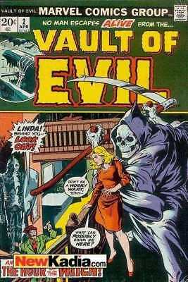 Vault of Evil #2 in Very Good + condition. Marvel comics [*d1]