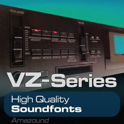 Casio Vz1 Vz10 Soundfont Library 215 Sf2 Files 2320 Samples Mac Pc Fl Download