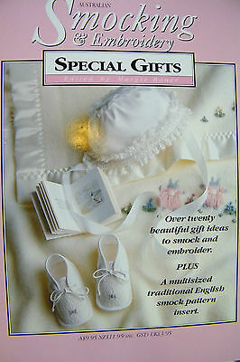Australian Smocking & Embroidery Special Gifts  Softcover