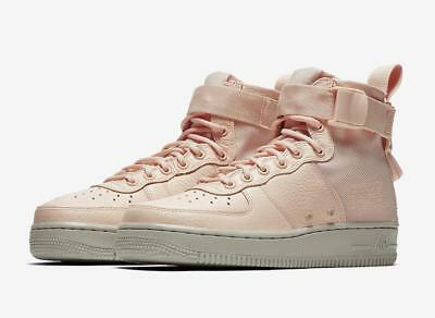 Nike AF-1 Urban Utility Goddess of Victory Leather High Tops Blush Pink Wm 8 NEW