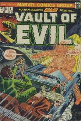 Vault of Evil #5 in Very Fine minus condition. Marvel comics [*5l]