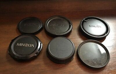Lot Of Vintage Camera Lens Covers Cover Protectors Minolta Yashica Lens Polarize