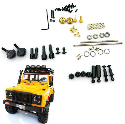 For 1:12 MN D90 D91 Truck RC car upgrade Metal Full metal bridge shaft drive Kit