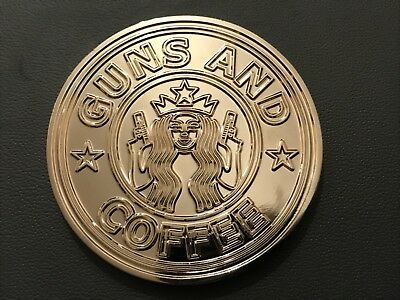 Nypd Silver Guns And Coffee Challenge  Coin