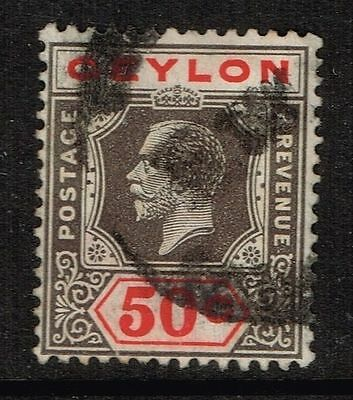 Ceylon SG# 353a, DIE I used.    Lot 01182015