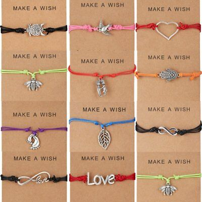 Wish Bracelet Tibetan Charm Friendship Birthday Best Friend Sister Fashion Gift