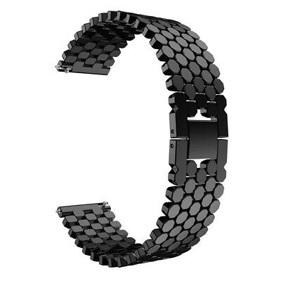 For Samsung Galaxy Watch 46mm Alloy Metal Watch Bracelet Band Strap Wristband