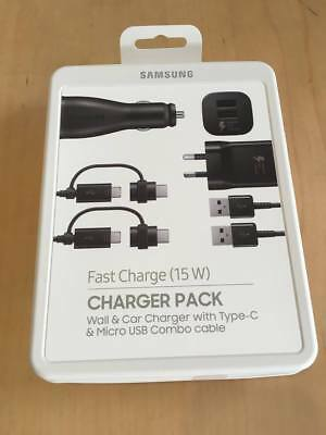 Samsung Power Pack AC + Car Charger + 2 X Cables