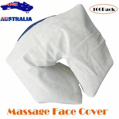 Massage Table Bed Head Rest Cover Face Cushion Sheets Disposable Cradle Cover AU