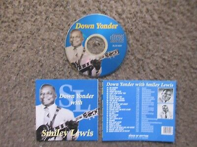 """Smiley Lewis """"down Yonder With Smiley Lewis"""" 1995 25Trx.vg+ Out Of Print Cd"""