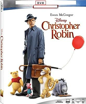 Christopher Robin (2018) DVD ** Disc Only ** Like New **