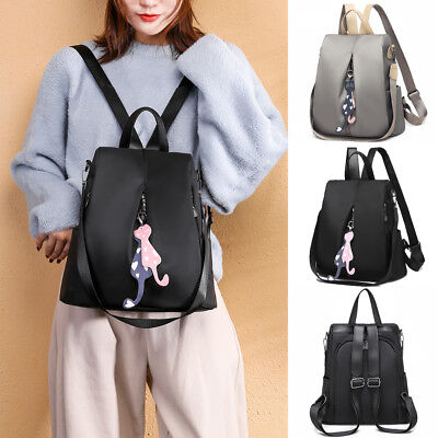 Fashion Women Backpack Handbag Girls Travel Shoulder Bag Ladies Leather Rucksack