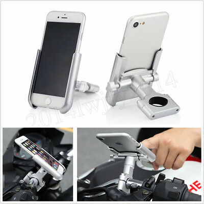 Motorcycle Bicycle Cell Phone Holder GPS Mount Bracket for iPhone 8 X XR XS MAX