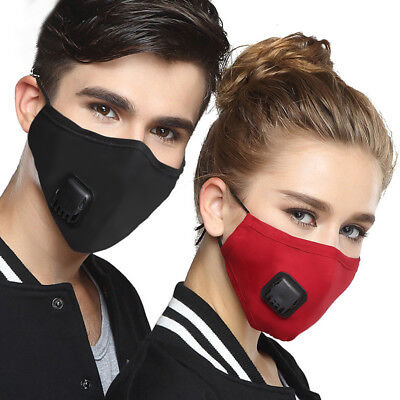 Anti Pollution Mask Air Filter Mask Respirator Dust Mask PM2.5 Cotton Mouth Mask