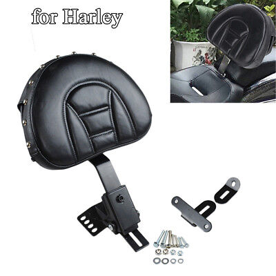 Adjustable Motorcycle Driver Backrest for Harley Touring Electra Road Street