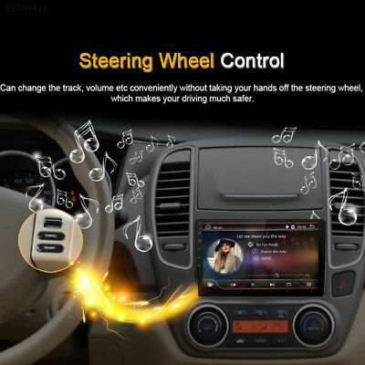 C739 10.1in Car Android Bluetooth Navigator Stereo Radio Double 2 DIN Player