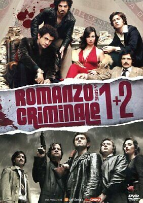 Dvd Romanzo Criminale - Stagione 01-02 (8 Dvd) 2008 Tv - serie 20th Century Fox