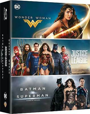 Blu-Ray Dc Comics Box Set (3 Blu-Ray) 2017 Film - Azione/Avventura Warner Home V
