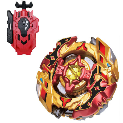 CHO Z SPRIGGAN Beyblade BURST B-128 01+Red String LR Launcher B-88 Kids TOY