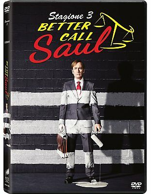Dvd Better Call Saul - Stagione 03 (3 Dvd) Tv - serie Sony Pictures - NUOVO
