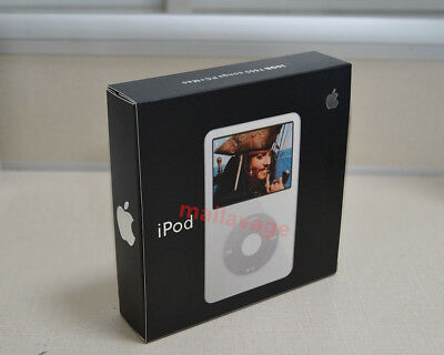 Apple iPod classic video 5th Generation White (30 GB) MP3 player -Retail Box