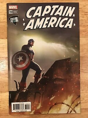 Captain America #700 Fried Pie Comic Con Iii Variant