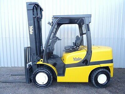 YALE GDP40VX. 4250mm LIFT. USED DIESEL FORKLIFT TRUCK. (#2238)