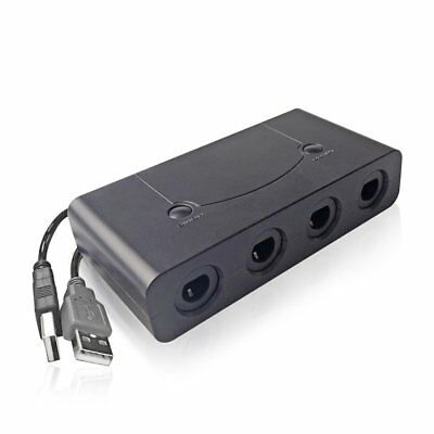 4 Ports Gamecube NGC Controller Adapter For Nintendo Wii U Switch and PC USB