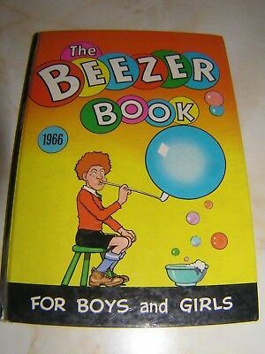 The Beezer Book Annual - 1966 - Good condition, no marks, spine good