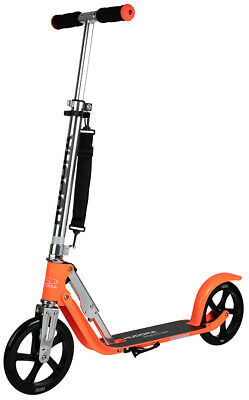 Hudora Big Wheel 205 neon-orange Scooter Roller extra große Räder 14776